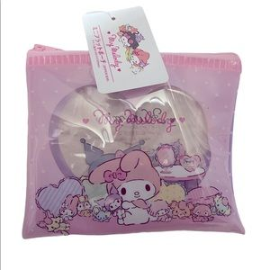 My Melody & Kuromi makeup bag